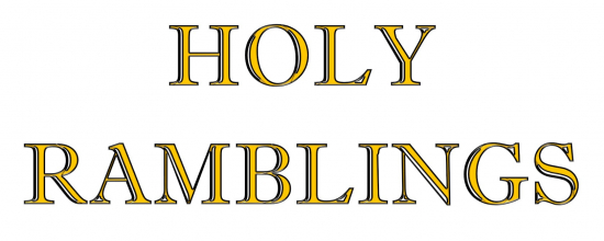gallery/holy ramblings logo